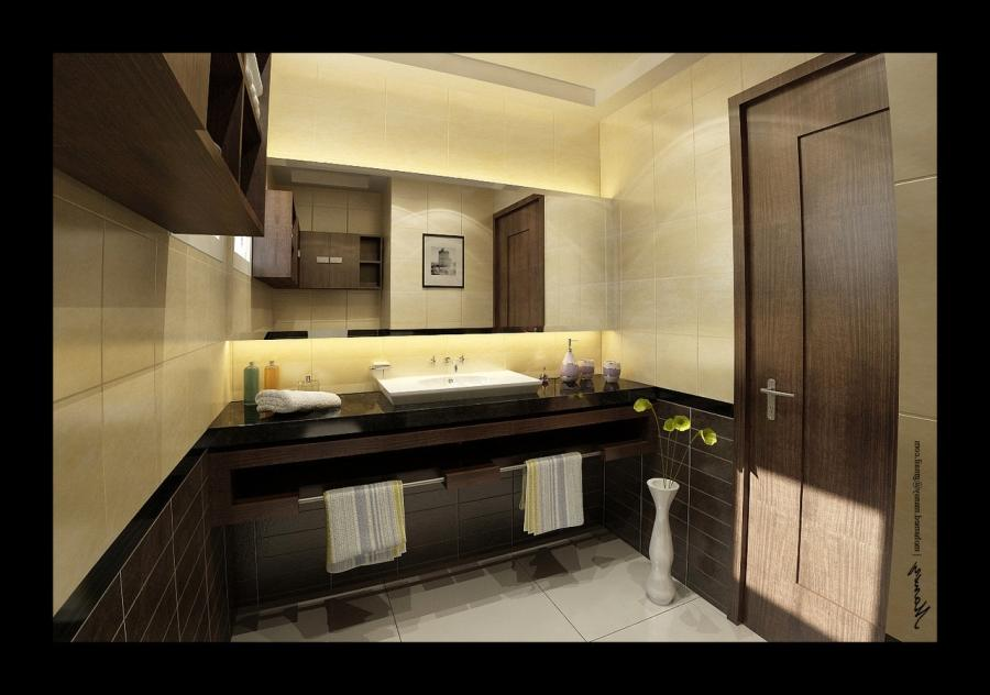 House Bathroom Decoration Interior By Mohamedmansy