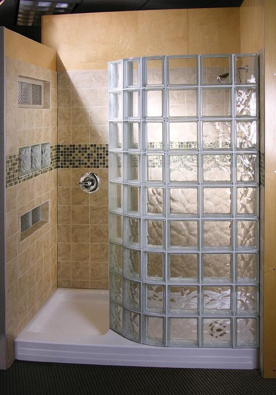 Glass Block Shower Photo Gallery