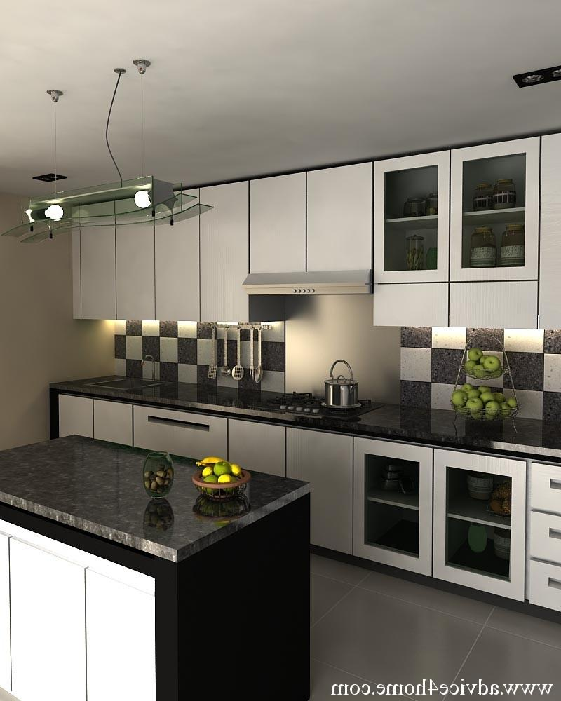 Black White Kitchen Designs Photos