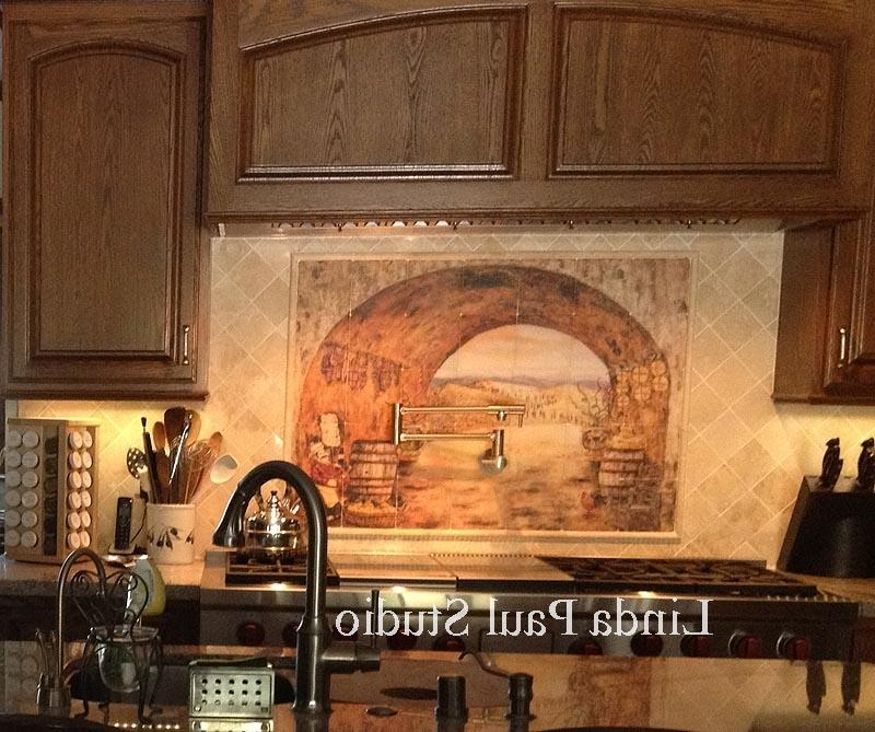 tuscan backsplash tumbled marble tile wall murals tiles source