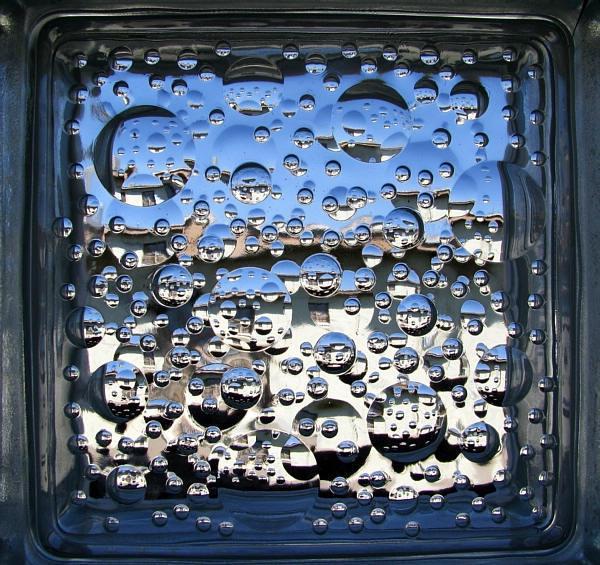 Glass block photo frames for Glass block alternatives