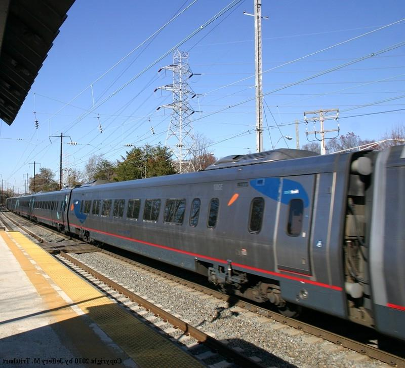 Amtrak Acela First Class Coach No. 3207 is northbound on Amtrak...