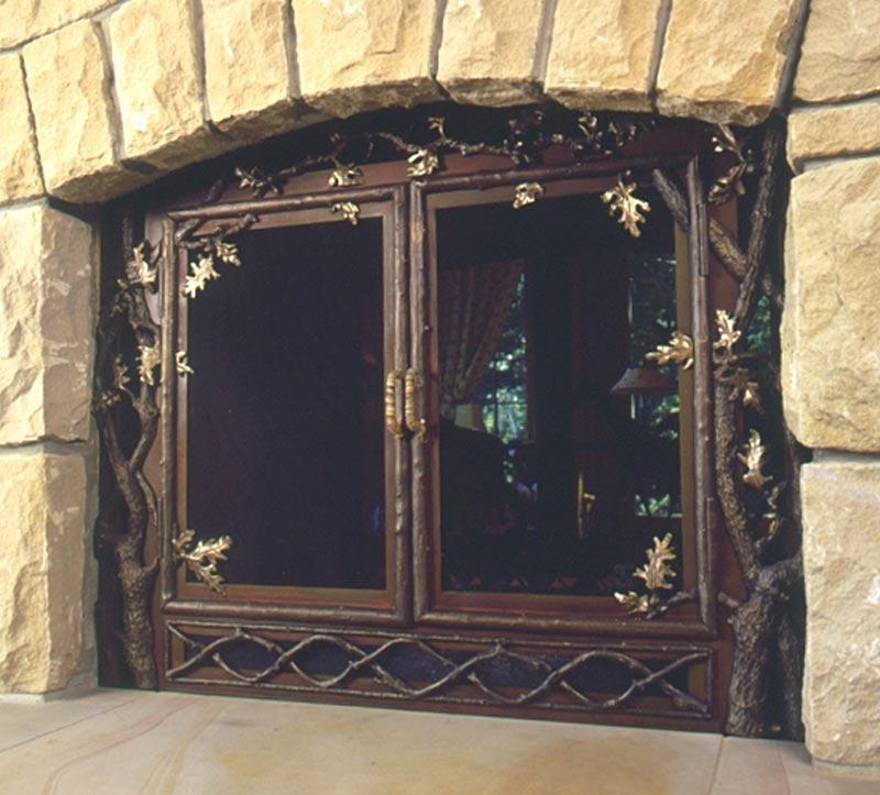 Fireplace Screen Photo