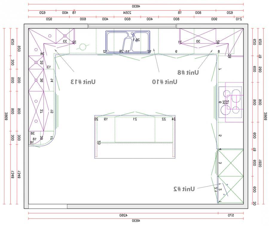 Kitchen Photo Plan