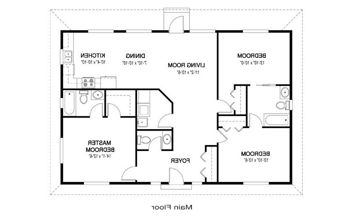 Open House Plans With Photos