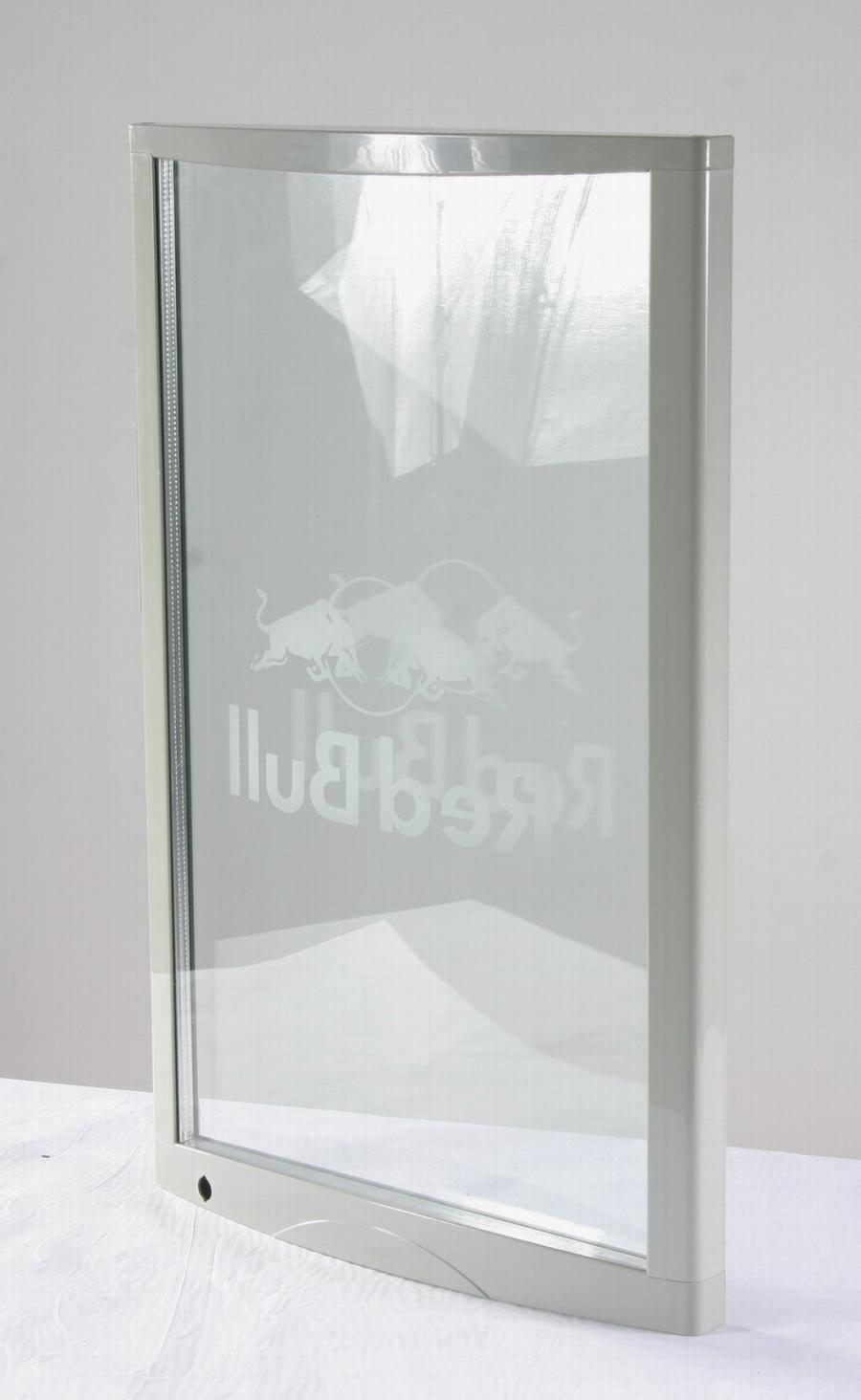 Double Curved Glass Photo Frame