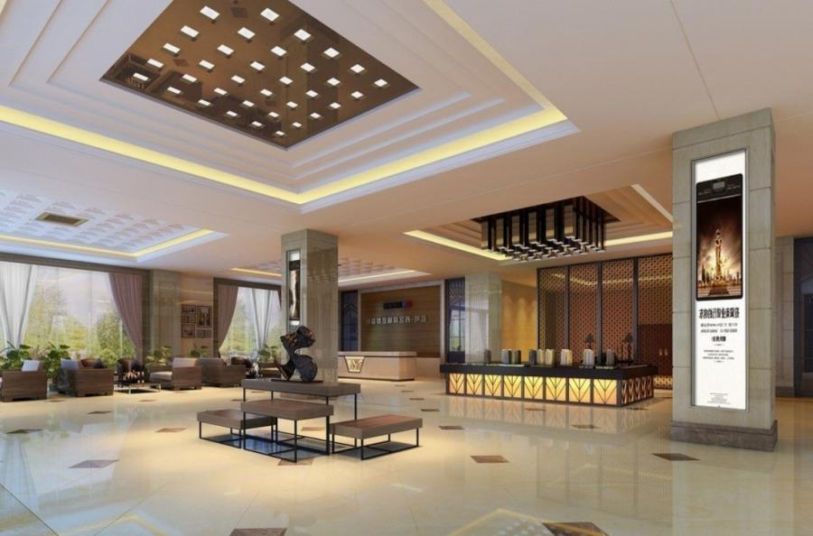 Hotel Interior Design And Ceiling Design
