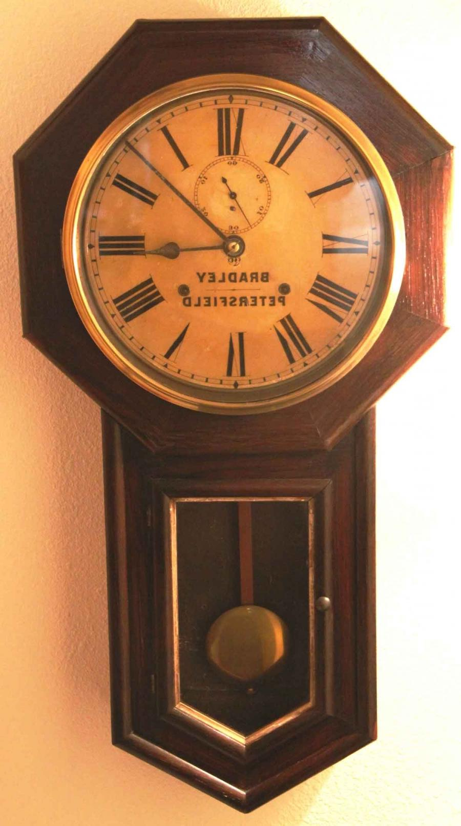 clock with photo