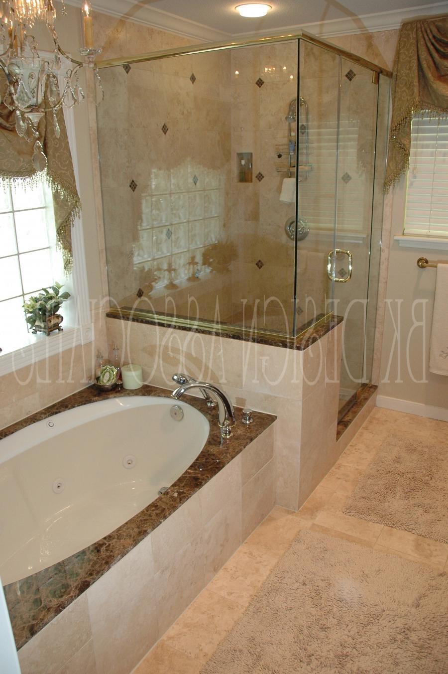 Designer master bathroom photos for Bathroom designs houston