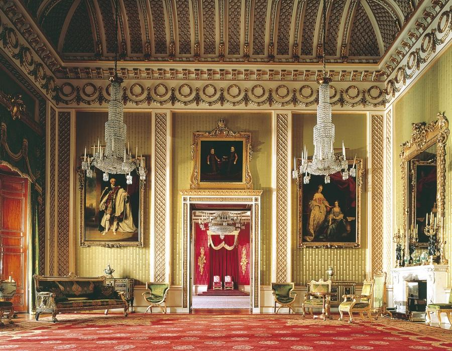 Buckingham Palace Interior Photos