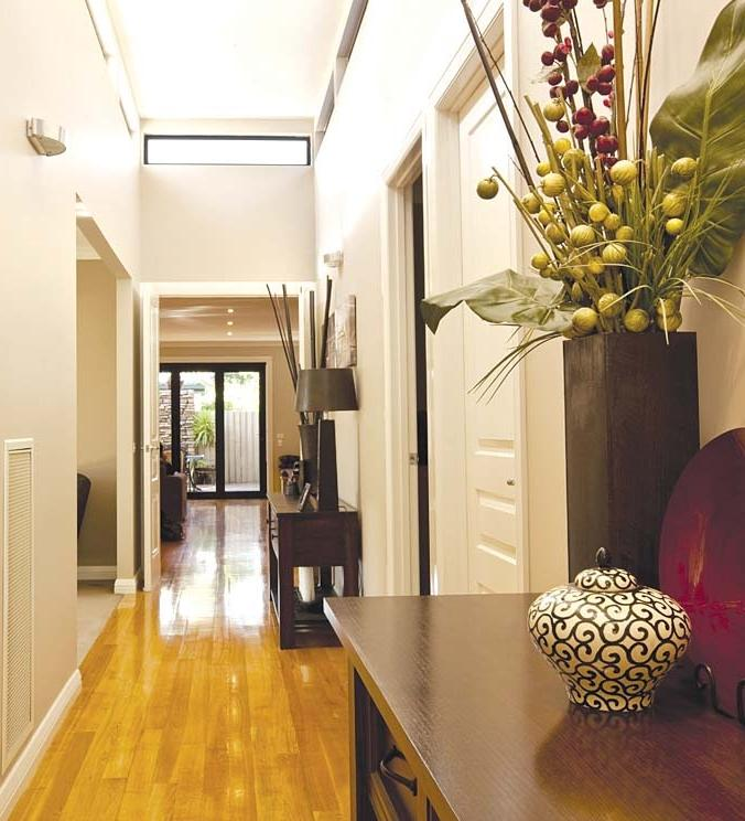 Add a personal touch to your hallway by hanging a favorite...