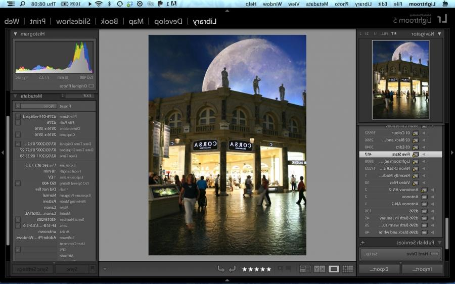 how to search for photos in library lightroom6