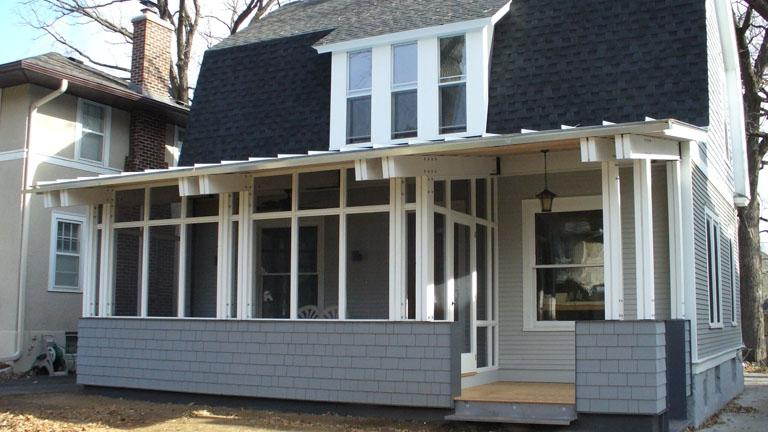 Visit this front porch remodel and replacement project page to...