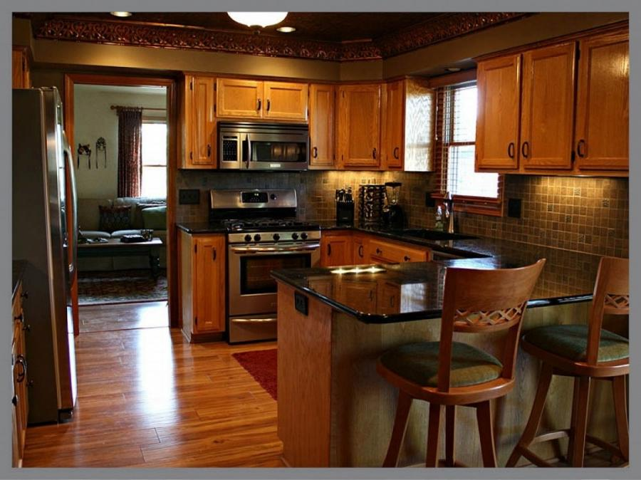 Astounding Sweet Brown Color Design Kitchen Remodels Ideas :...