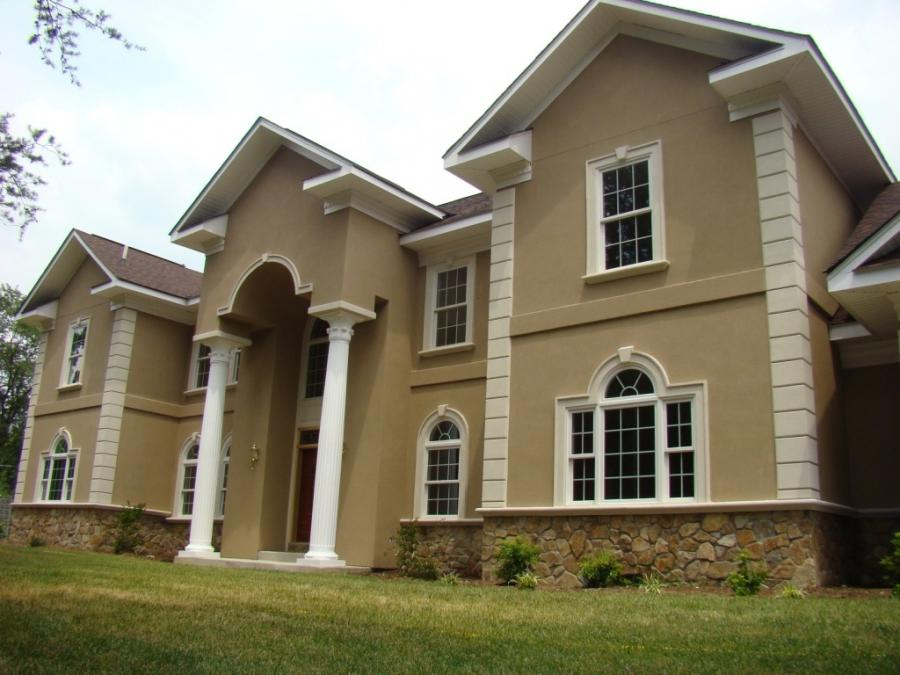 Photos Of Brick Stucco Homes