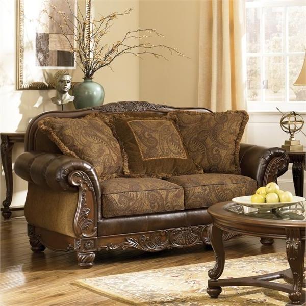 Fresco durablend antique living room set
