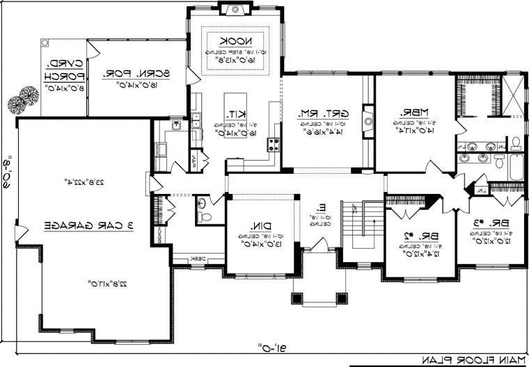 House plan 92395 at familyhomeplans 28 images 10 best for Family home plans 82230
