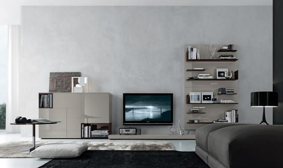 Modern and Functional Open Wall System Design for Home Furniture...