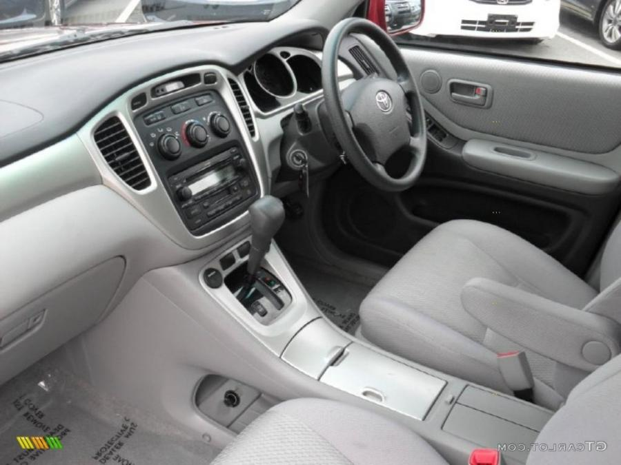 2006 Toyota Highlander Interior Photos