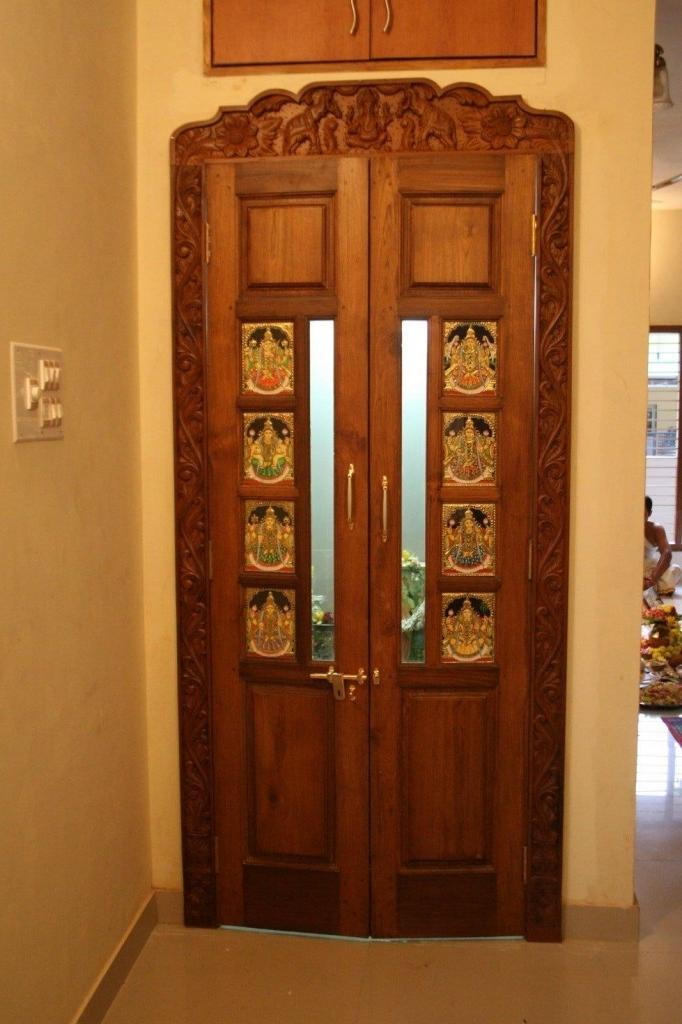 Pooja Room Door Designs Photos