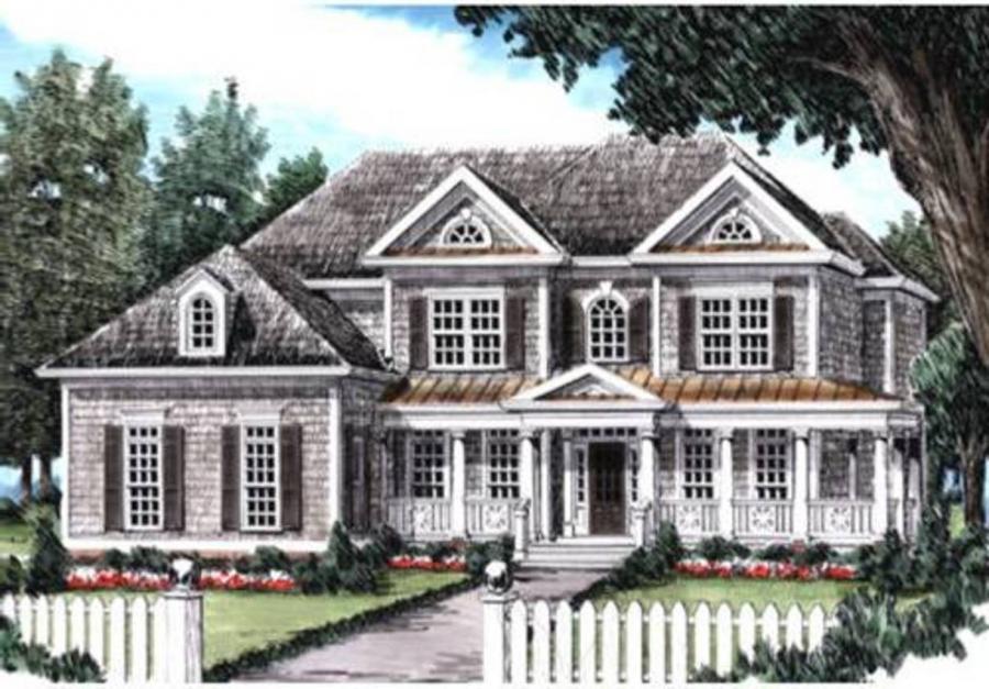 Frank betz house plans with interior photos for Craftsman house plans with interior photos