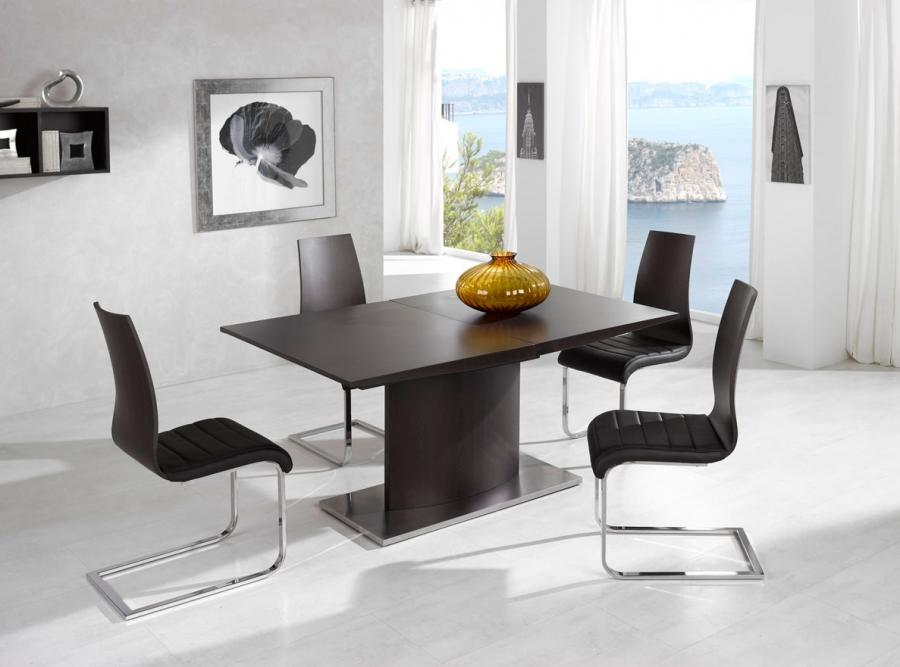 Enrique Table with Valencia Chairs - More Images and Dimensions