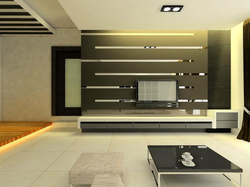 Living room interior design photo gallery malaysia for Home design johor bahru