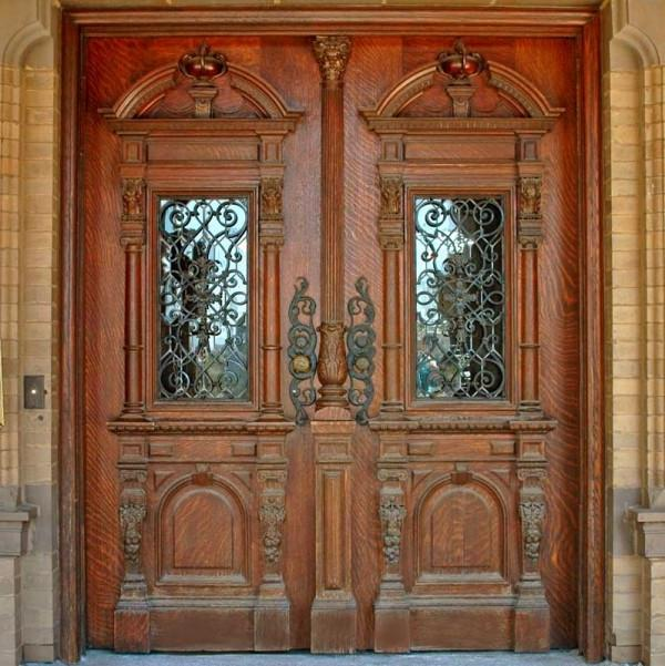 Wood Carving Door Photos