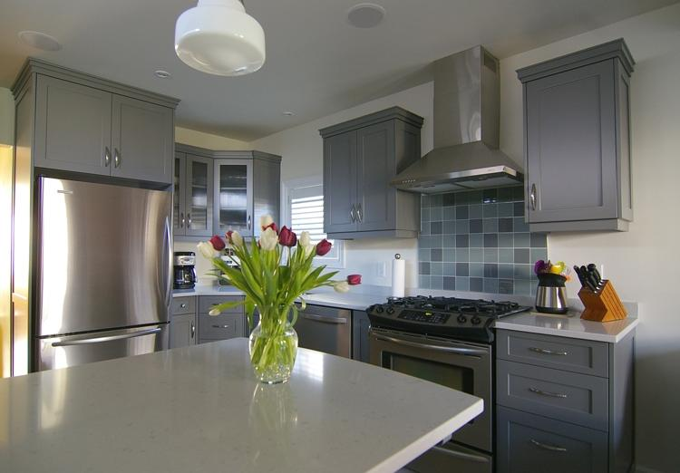 Pictures of Kitchens  Traditional  Gray Kitchen Cabinets ( source