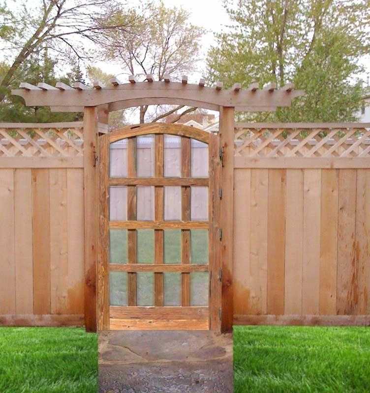 Wooden Garden Gate Photos