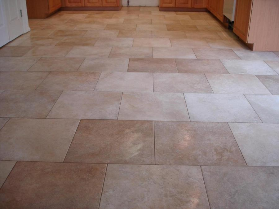 modern kitchen floor tile