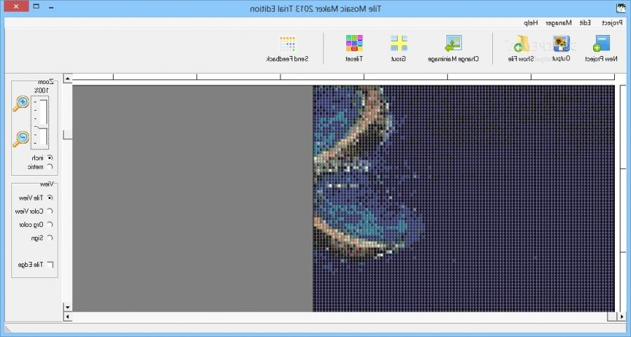 Photo tile mosaic software