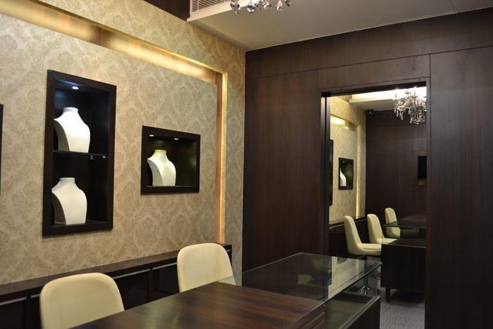 Jewellery Showroom Interior Design Photos