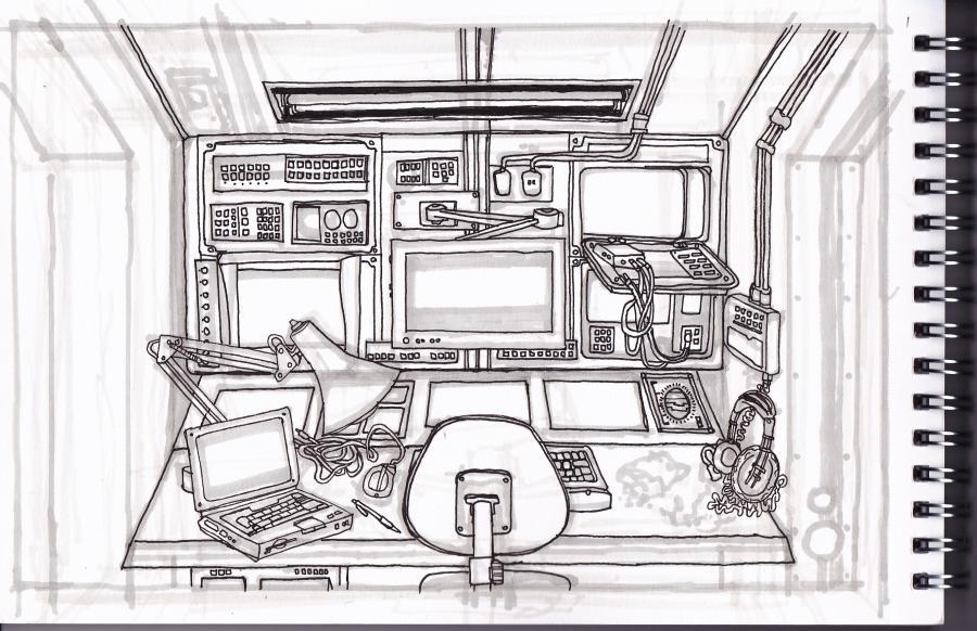 space shuttle interior design - photo #32