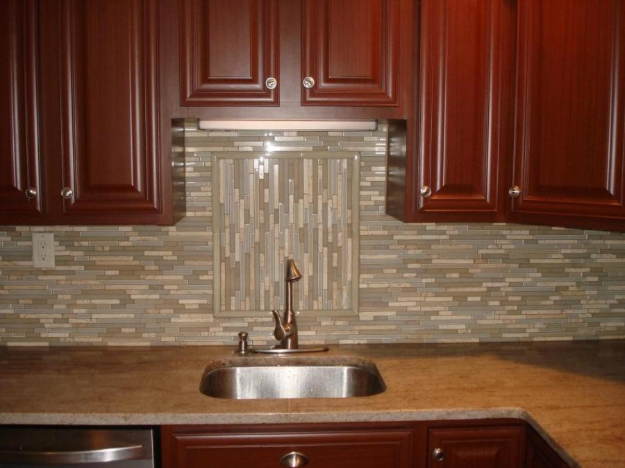 Solid,durable and easy-to-clean,tiles and mosaic can withstand...