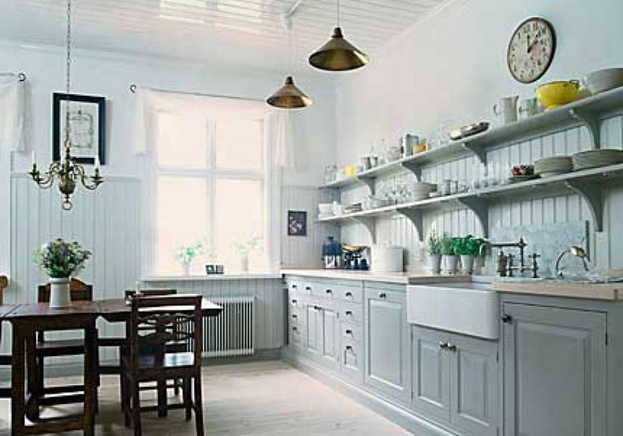 Open Kitchen Decoration Cabinets Furniture