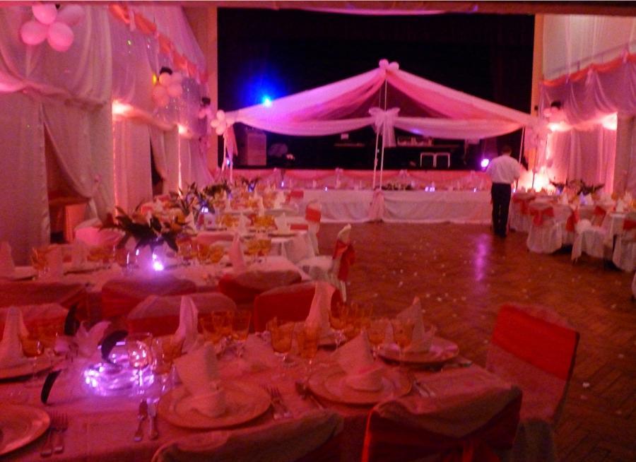 Photo decoration salle fete pour mariage - Decoration pour reception ...