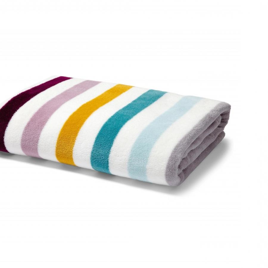 Mamas  Papas Patternology Fleece Cotbed Blanket - Multi Stripe