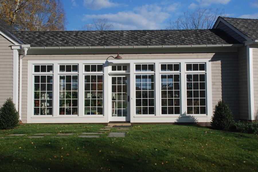 Sunroom Addition Enclosed Patio House
