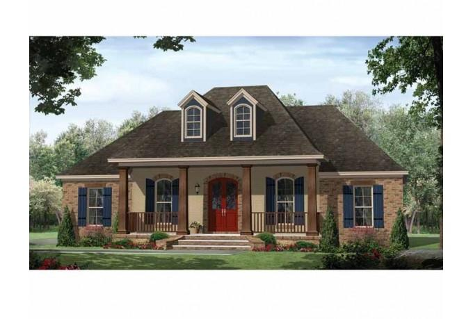 Small french country house photos for French country house plans open floor plan