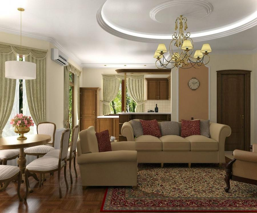 Colors for Classic Living Room | Home Designs
