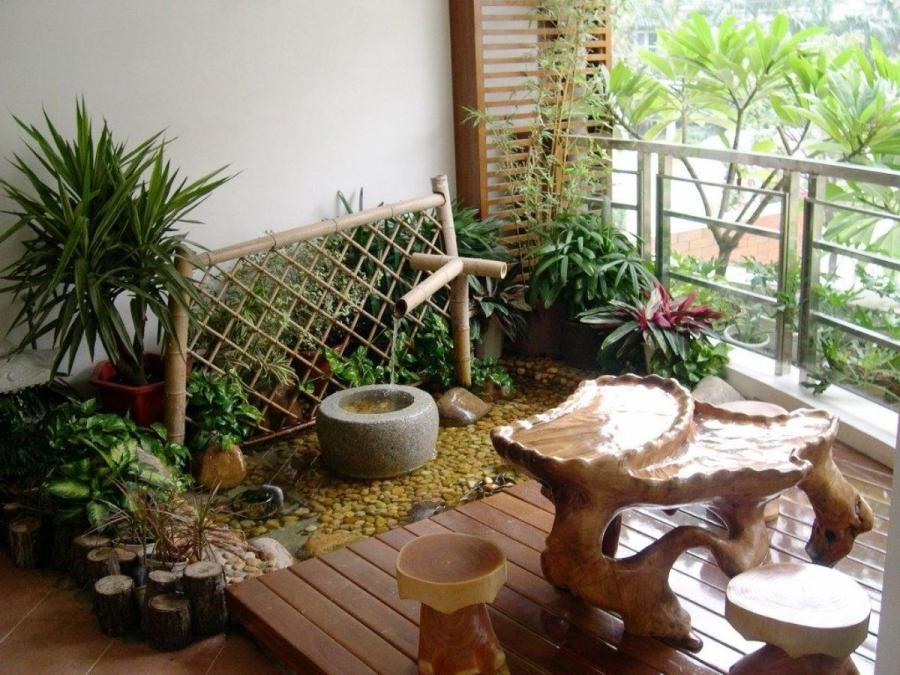 Cool Balcony Garden Decor