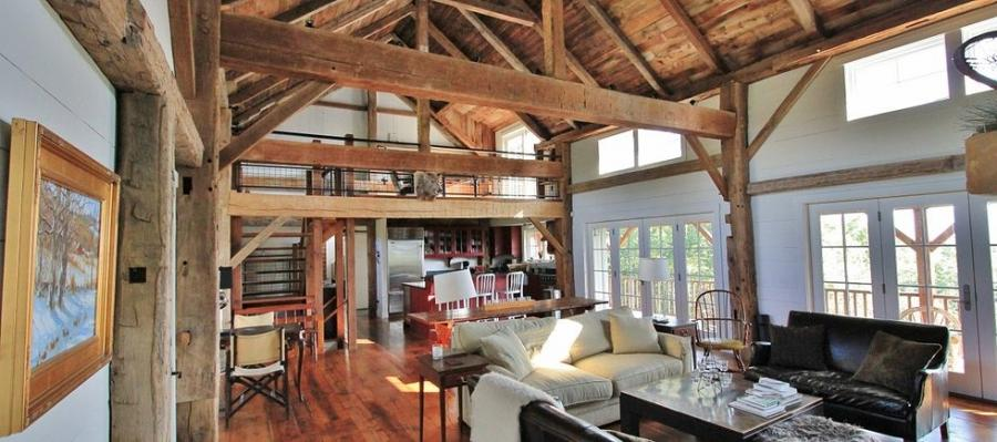 Barn home interior photos