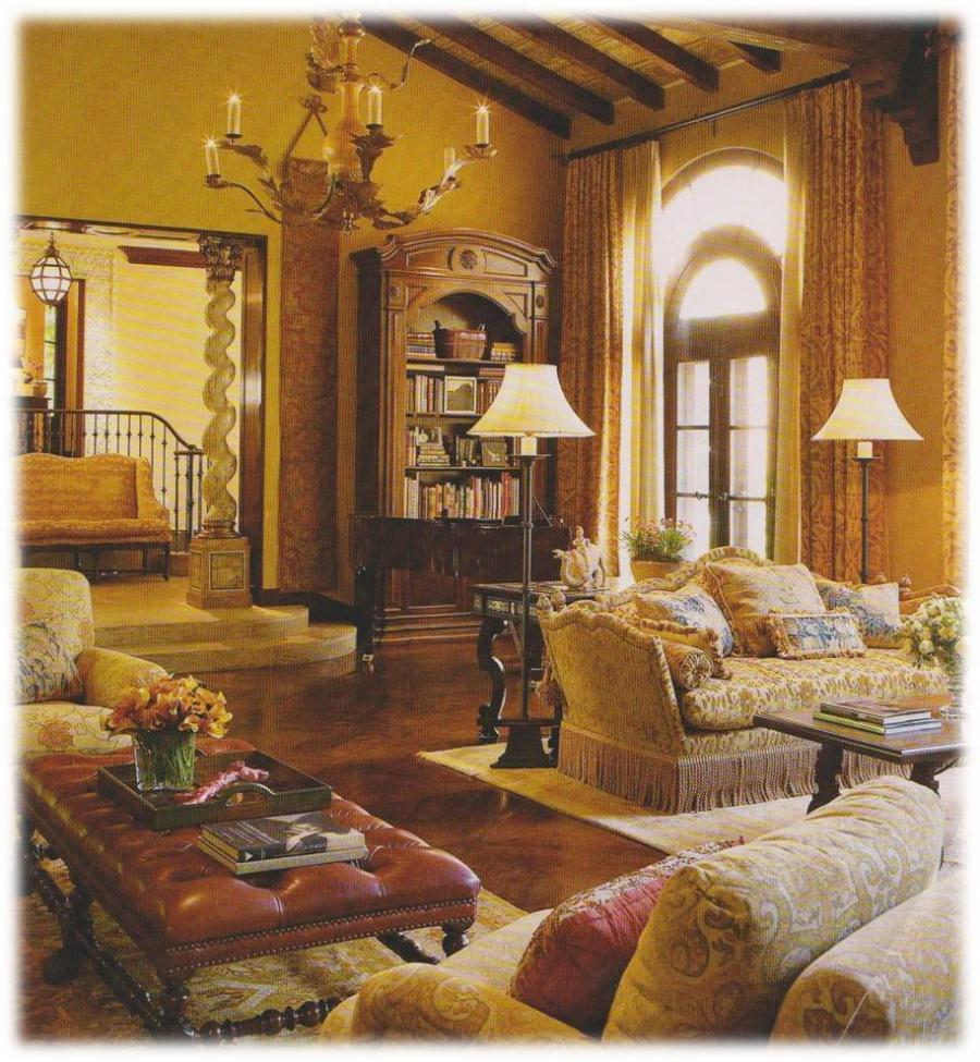 Tuscan interior design photos for Tuscany interior designs