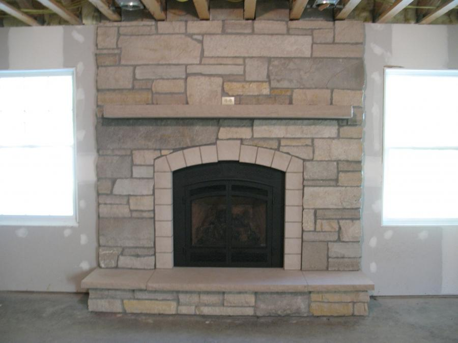 Fireplace Photo Stone