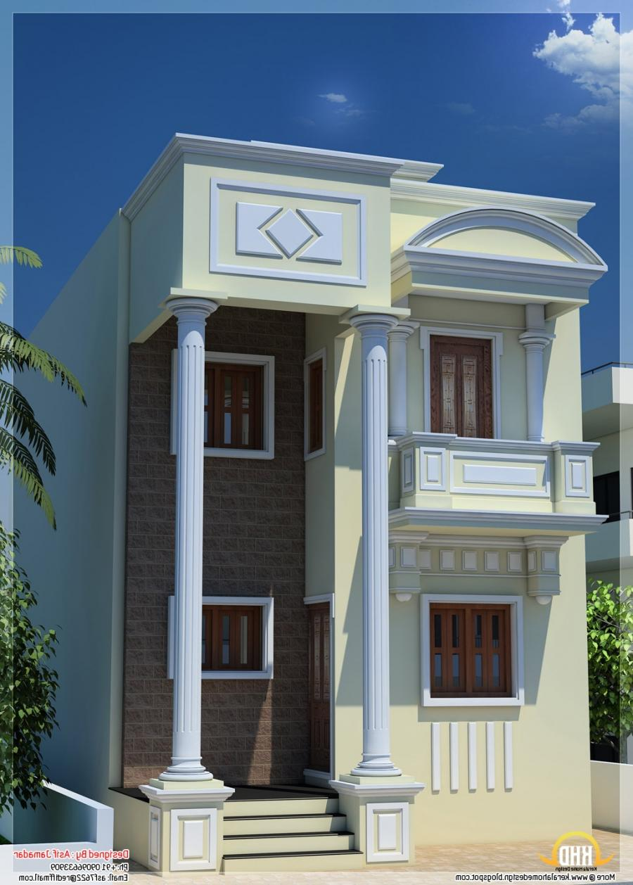New house designs in india photos New home plan in india