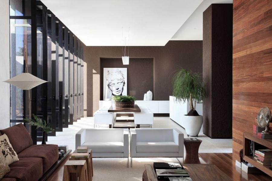 modern contemporary interior living space photo