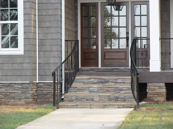small front porch railing decorating ideas pictures front porch...