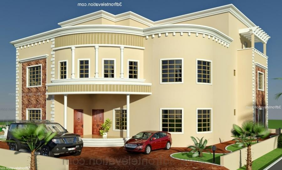 3d Front Elevation Of Houses In Dubai : House front elevation design uae joy studio