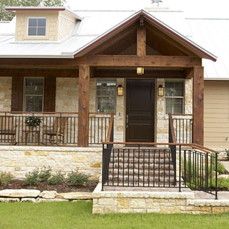 18 Great Traditional Front Porch Design Ideas: Front Porch And Stairs Designs Photos